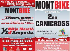 I Mitja marat� d�Amposta, IV 10mil d�Amposta i II Canicross solidari Montbike