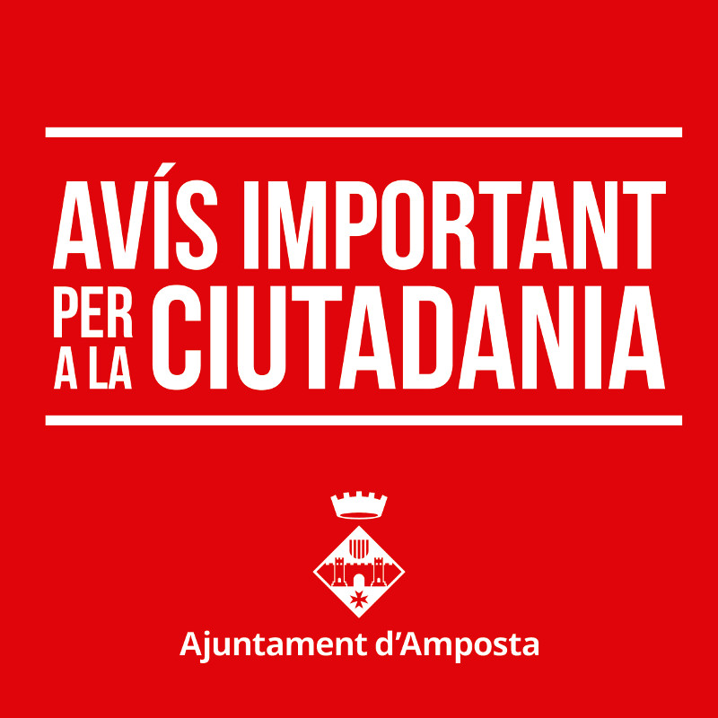 L'Ajuntament d'Amposta es suma a la convocatòria de Vaga general per a dimarts 3 d'octubre
