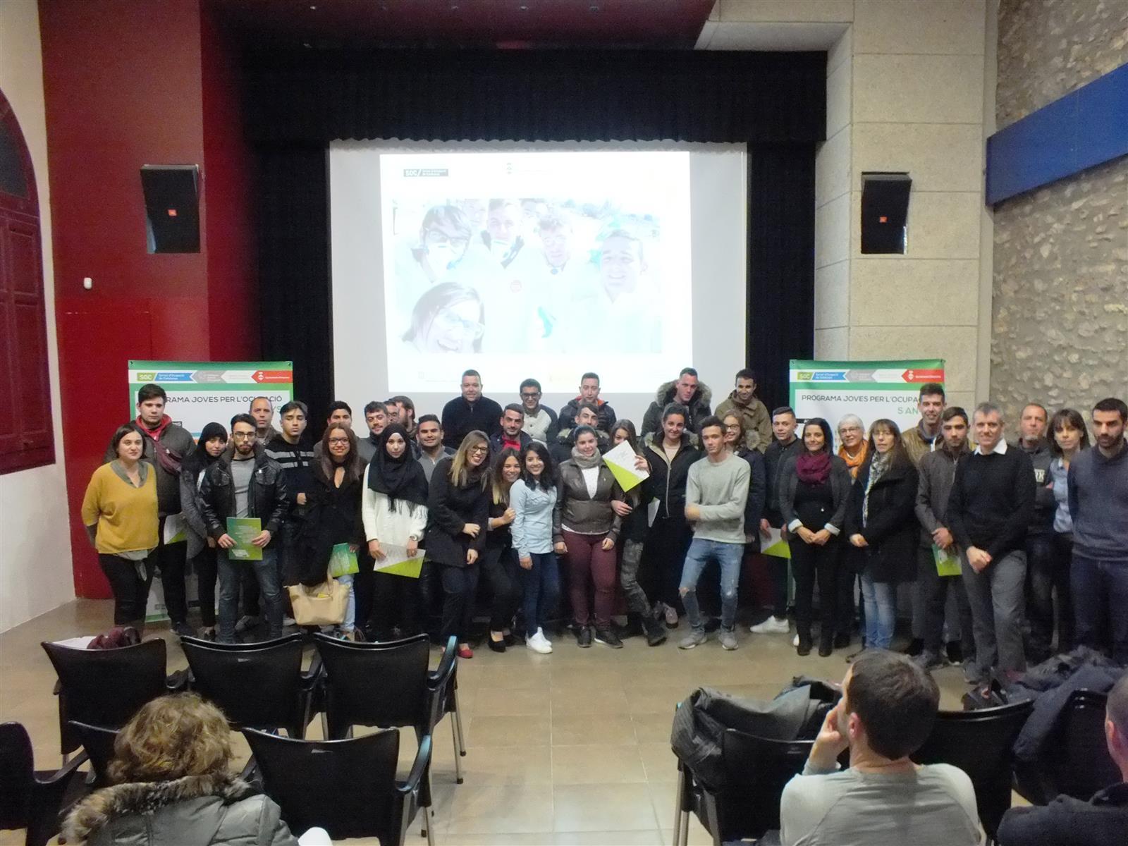 El programa Joves per l'Ocupació entrega els diplomes als 90 participants d'aquesta edició