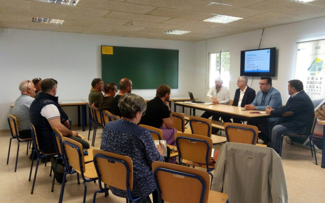 Ajuntament d´Amposta > Regidories > El GALP es presenta a les empreses d'Amposta i Poble Nou del Delta