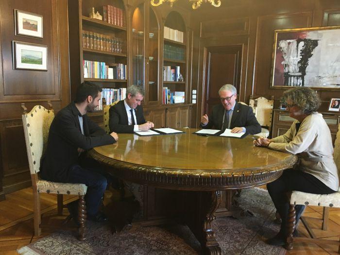L´Ajuntament i la Diputació signen un conveni per a la millora d´infraestructures municipals de prop de 700.000 euros