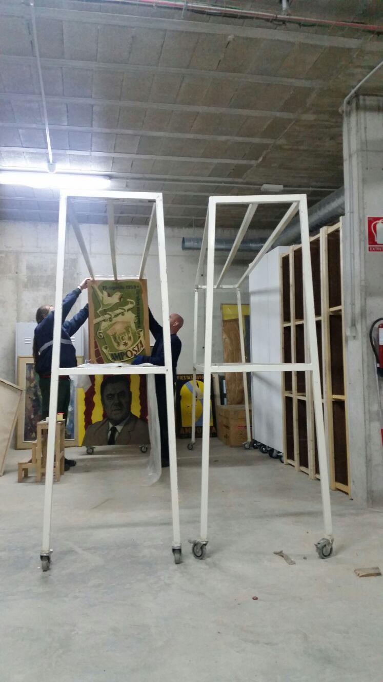 Ajuntament d´Amposta > Comunicació > Amposta inicia la catalogació del fons d'art municipal