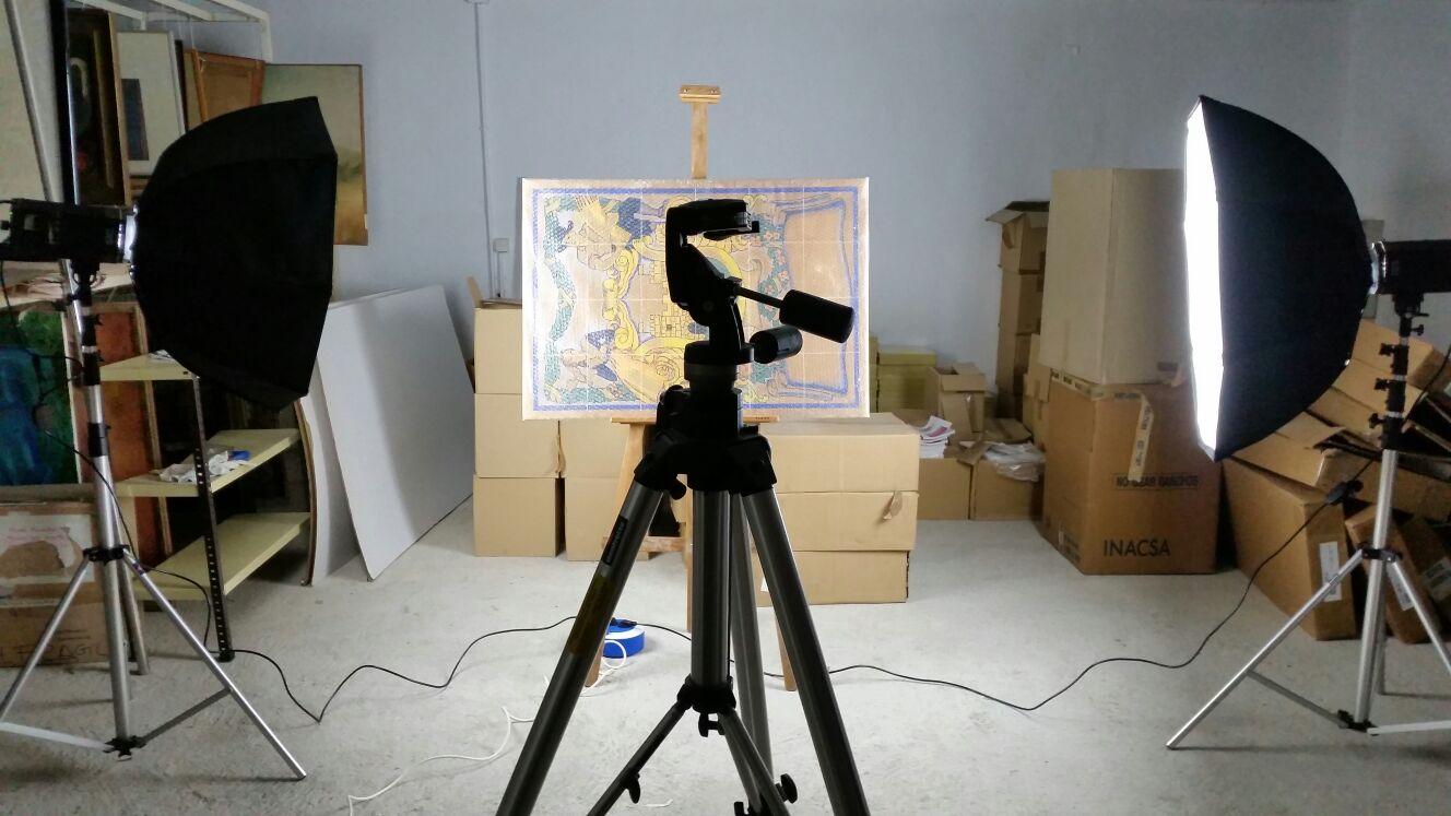 Amposta inicia la catalogació del fons d'art municipal