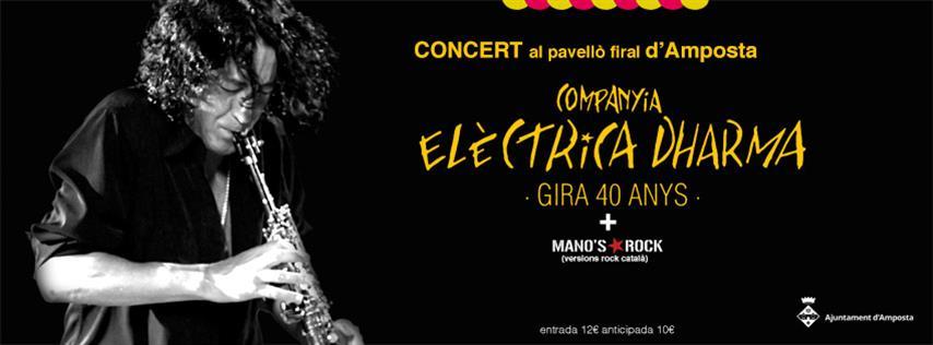 La Companyia Elèctrica Dharma, en concert a Amposta