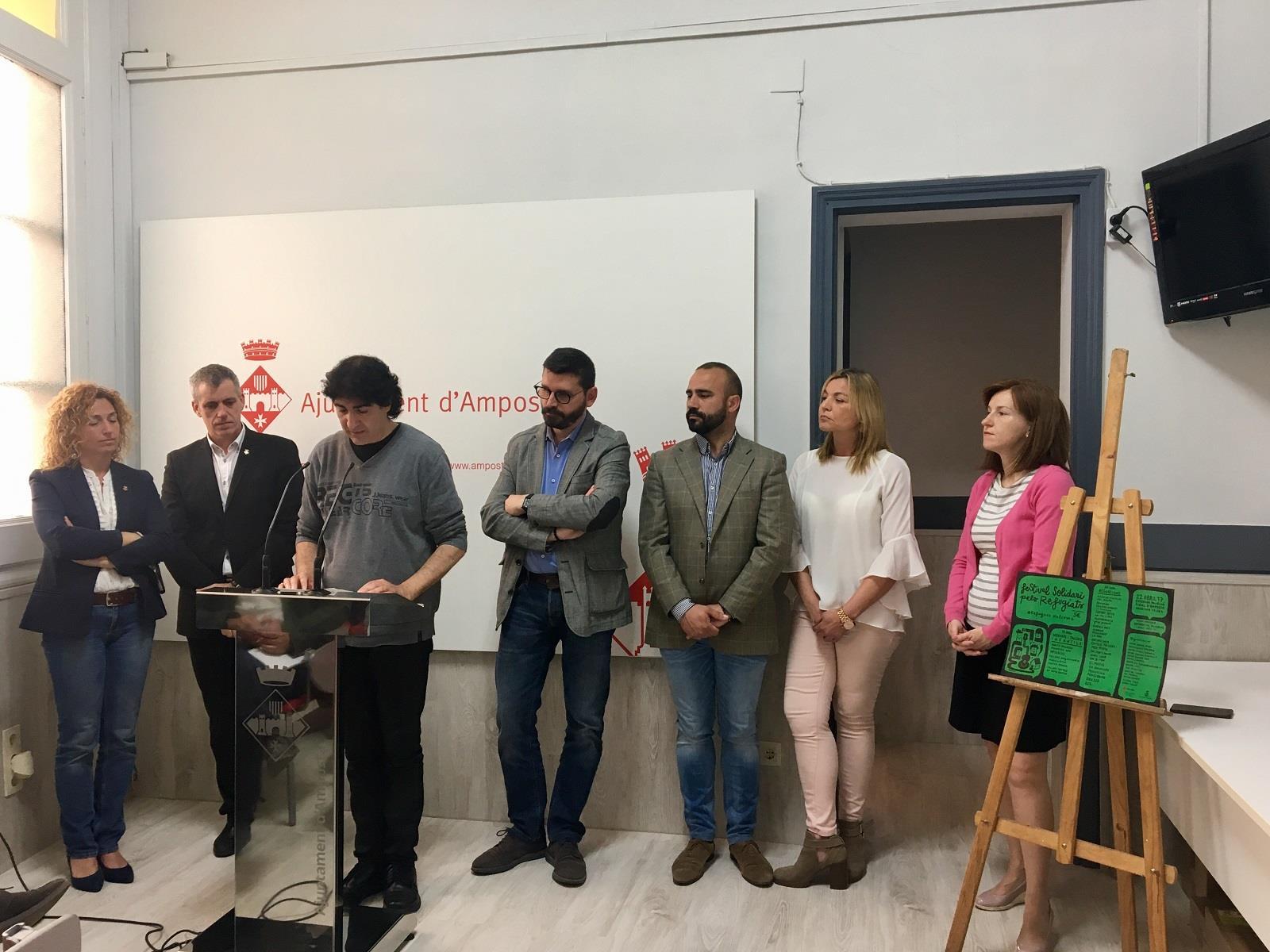 Amposta acollirà el Festival Solidari pels Refugiats