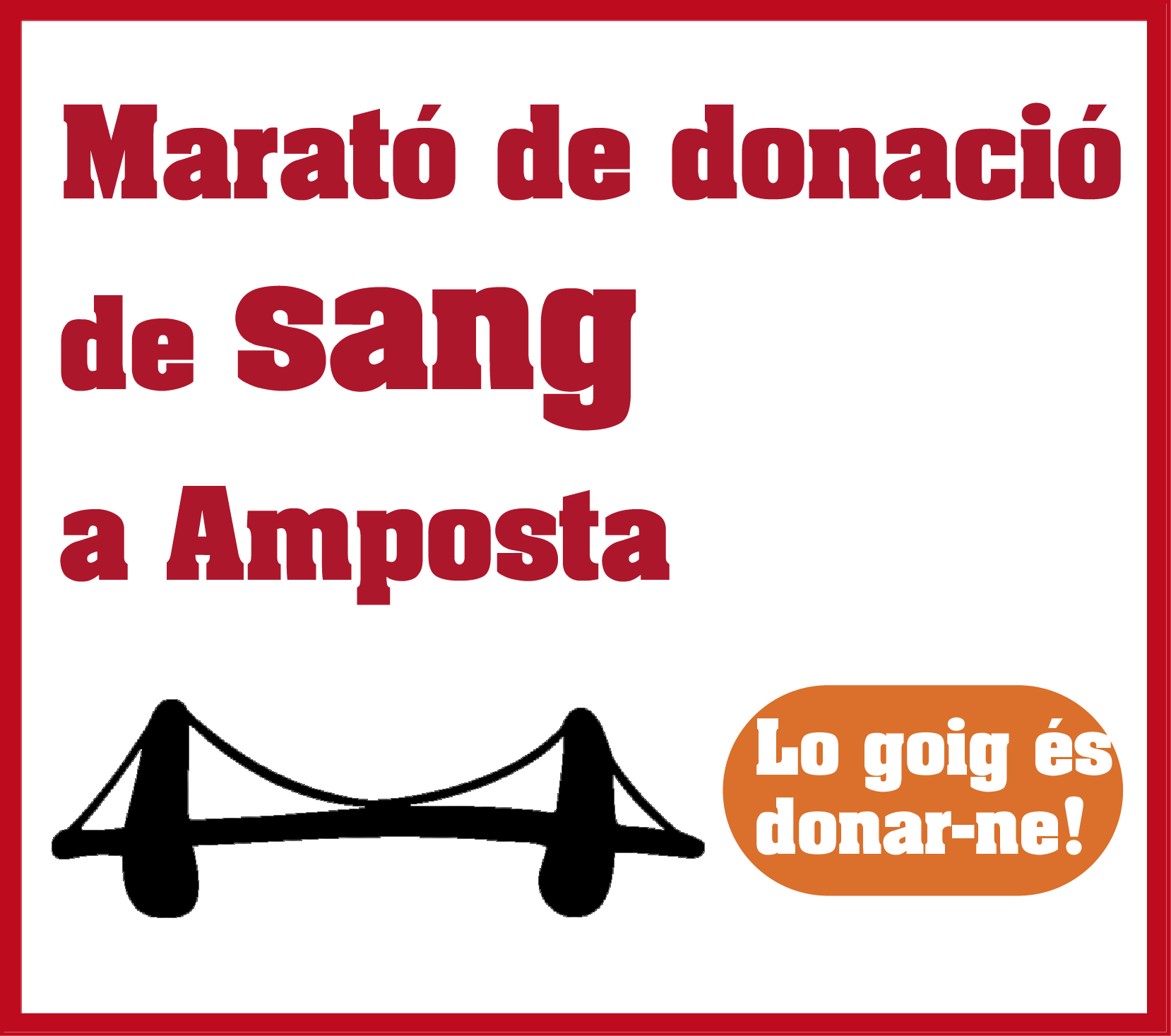 Arriba una nova edició de la Marató de Sang, que espera superar les 400 donacions