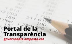 Portal de la Transpar�ncia de l�Ajuntament d�Amposta