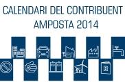 CALENDARI CONTRIBUIENT AMPOSTA 2014