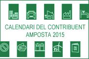 CALENDARI CONTRIBUIENT AMPOSTA 2015