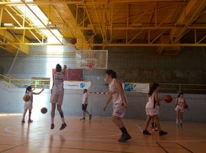 Prop d´un centenar de jugadores de bàsquet  participen al Campus Winners