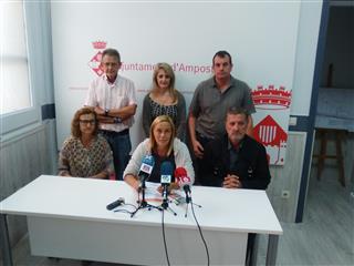 El grup municipal de Convergència defensa la bona situació econòmica d'Amposta