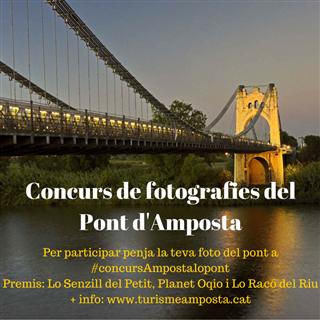 Turisme d´Amposta convoca un concurs fotogràfic sobre el Pont Penjant a Instagram