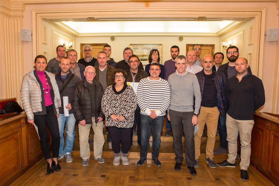 L'Ajuntament d'Amposta signa convenis de col·laboració amb 15 entitats esportives