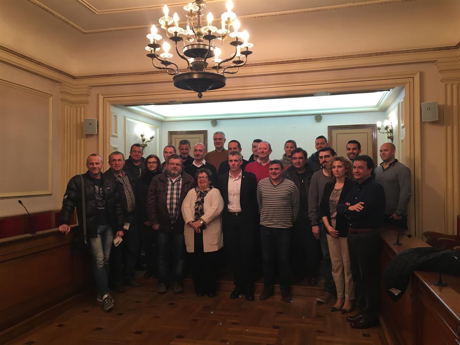 L´Ajuntament d´Amposta signa convenis de col·laboració amb entitats esportives del municipi