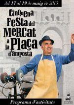 Consulta el programa de la Festa del Mercat a la Plaça
