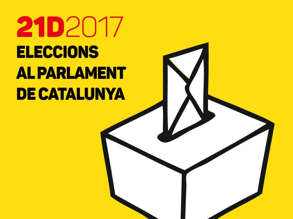Què necessiteu saber per sol·licitar el vot per correu pel 21-D?
