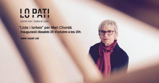"""Ajuntament d´Amposta > agenda > Exposició """"Llots i torbes"""" de Mari Chordà"""