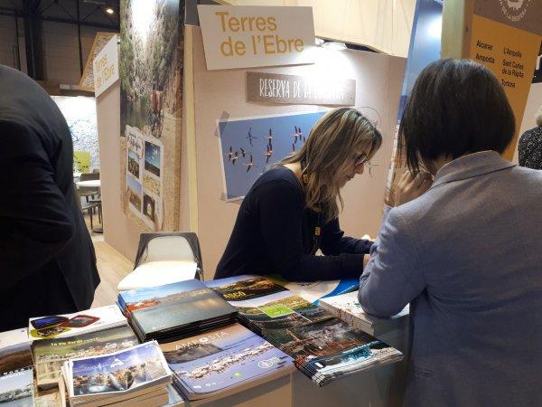 Amposta promociona el patrimoni cultural material i immaterial de la ciutat a Fitur, a Madrid