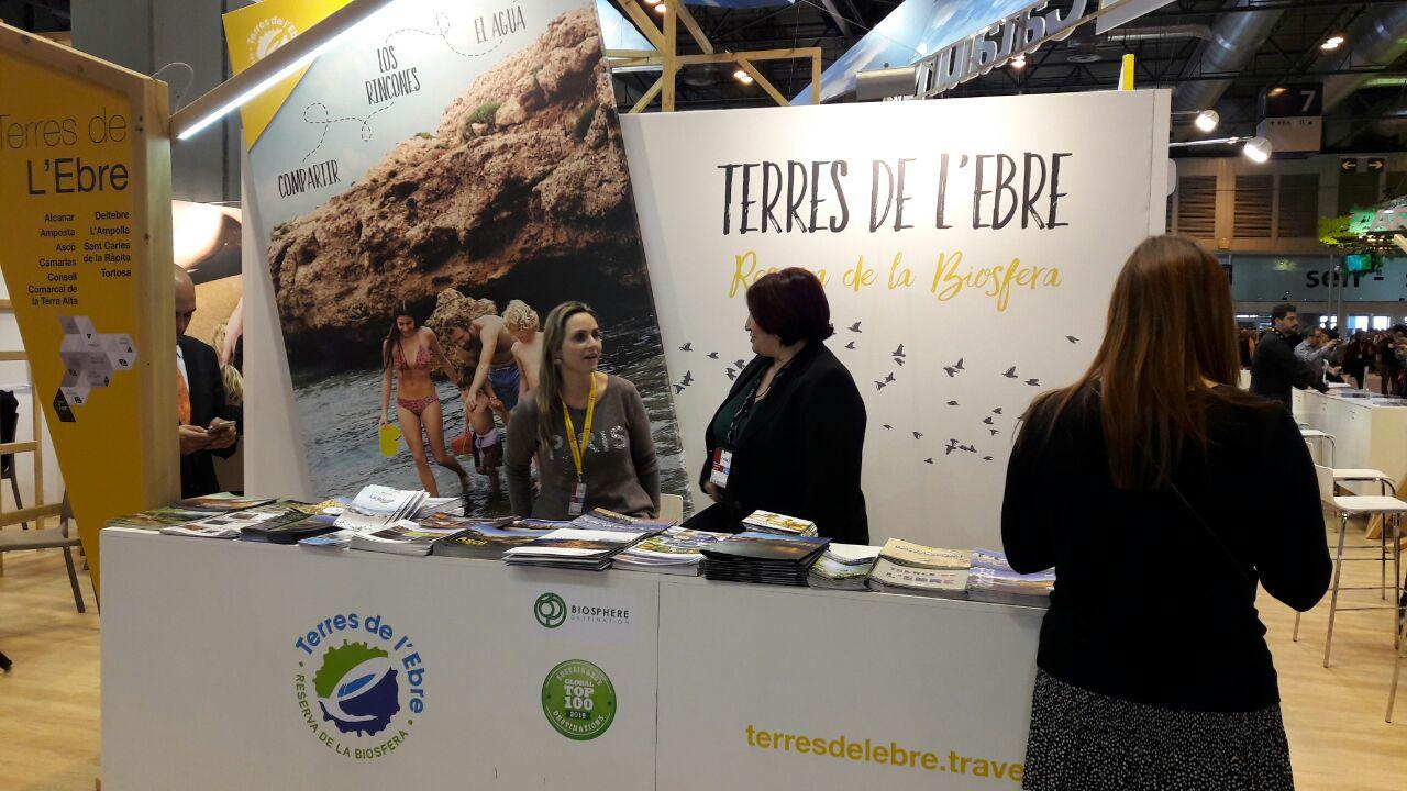 Amposta presenta nou catàleg turístic a Fitur