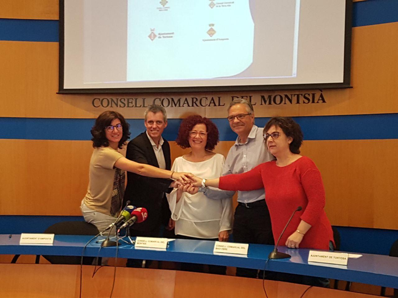 Ajuntament d´Amposta > L'Ajuntament > L'Ajuntament d'Amposta renova el conveni amb el Banc d'Ajudes Tècniques de les Terres de l'Ebre