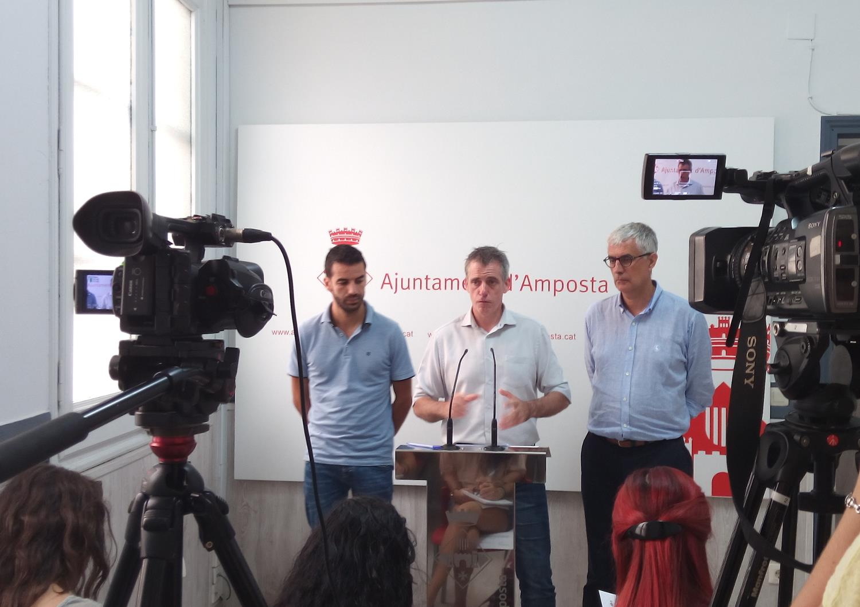 L'Ajuntament d'Amposta aprovarà unes inversions per valor d'1,6 milions d'euros