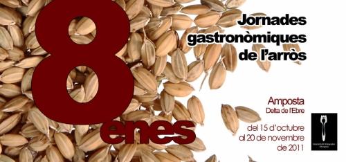 Ajuntament d�Amposta > not�cies > 8enes Jornades Gastron�miques de l�Arr�s