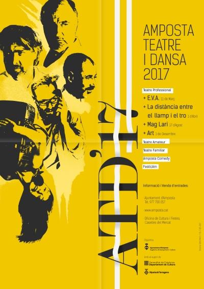 Amposta Teatre i Dansa programa 25 actuacions