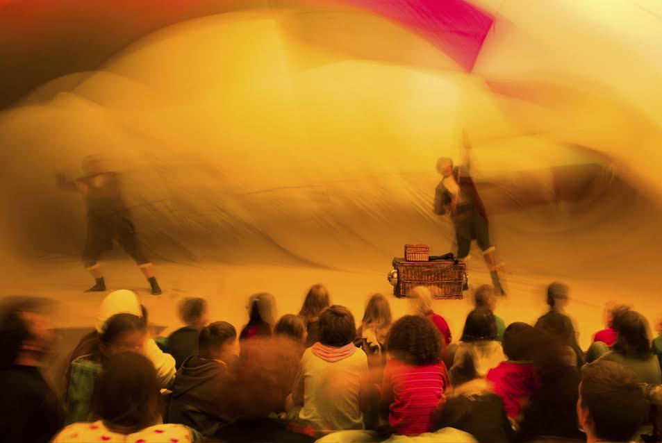 La Xarxa Amposta reprèn els espectacles infantils dins d'un globus