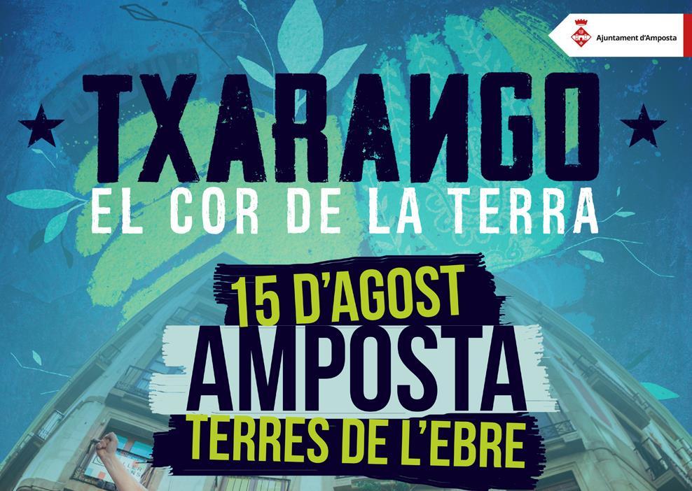 Txarango actuarà a Amposta el pròxim 15 d'agost