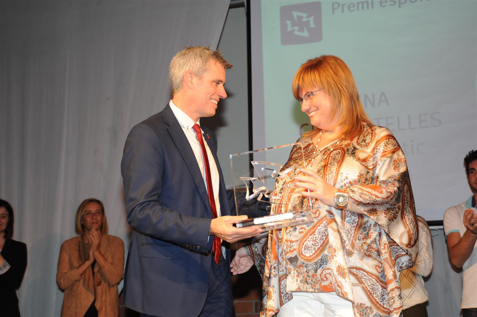 Aina Cid, Premi Esports 2016